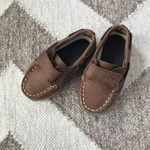 Sperry Leather Boat Shoes  - barely worn!